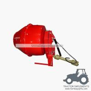 China 5CM - 3 point hitch PTO Cement Mixer ,concrete mixer  200lit on sale