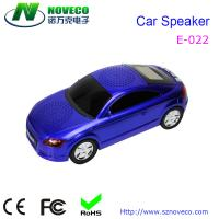 Buy cheap Car Shape Speaker With TF/USB/FM Radio Music MP3 Player from wholesalers
