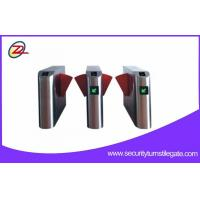 Buy cheap Type bevel shape flap barrier gate have closed blocking and other functions from wholesalers