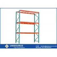 Buy cheap Rust Protection Teardrop Pallet Rack High Capacity Steel For Cold Storage from wholesalers