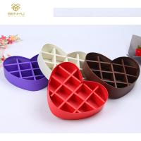 Buy cheap Custom Luxury Lid Base CMYK Heart Shaped Paper Box from wholesalers
