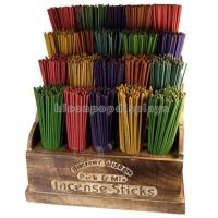 Buy cheap Fragrance Retail Gondola Shelving Units Wooden Stick Incense Display Stands from wholesalers