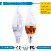 Buy cheap China Manufacturer wholesale E14/E27 led candle lights 4w with CE ROHS listed from wholesalers