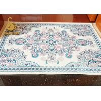 Buy cheap PVC Dots Backing Cooking Anti Slip Floor Mats Needle Punched Non Woven Printed product