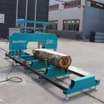 Buy cheap SW26G Portable Band Sawmill Machine For Wood Cutting, Horizontal Bandsaw Saw Mills from wholesalers