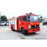 Buy cheap Emergency Fire Fighting Truck With Cummins EQB125 Diesel Engine 4000Liters Water from wholesalers