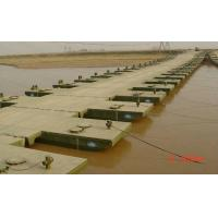 Buy cheap Reusable Floating Pontoon Bridge / Army Pontoon Bridge With Heavy Loading Capacity product