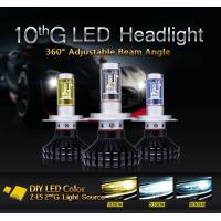 2016 New High Quality car led headlight H7 ZES led headlight bulbs