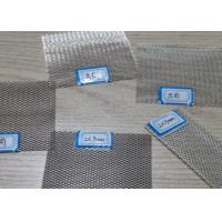 Buy cheap 99 Pure Silver Metal Mesh Fabric , Diamond Wire Mesh Thermal Conductivity from wholesalers
