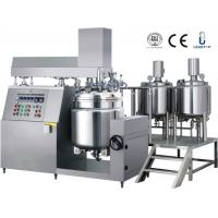 Buy cheap 100L Pharmaceutical Ointment Making Vacuum Emulsifying Mixer For Mixing Oil And Water from wholesalers