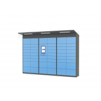 Buy cheap Smart Post Parcel Mailbox Delivery Electronic Locker For Home Or Online Shopping Use from wholesalers