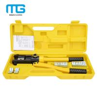 Buy cheap YQK-300 manual hydraulic crimping tool cable terminal crimper copper and aluminum terminals from wholesalers