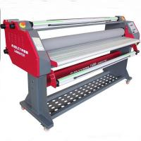 Buy cheap Electric wide format cold low temperature laminator 160cm laminating machine from wholesalers