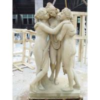 Buy cheap The Graces/Kharites stone sculpture statue from wholesalers