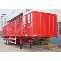 Buy cheap CIMC best cargo trailer manufacture flatbed drop side livestock semi trailer for sale from wholesalers