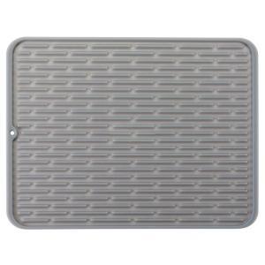 Buy cheap 17 x 13 OEM Silicone Microfiber Dish Drying Mat Custom Logo product