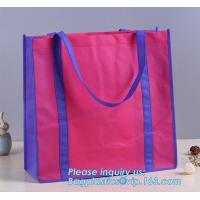 China Promotional pp coated custom printed recycled eco tnt grocery non woven bag, Eco friendly promotional custom reusable br on sale