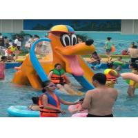 Buy cheap Donald Duck Kids Water Playground , Swimming Pool Spray Kids Water Slide from wholesalers