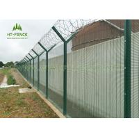 Buy cheap Anti- UV 358 Security Fence / Green Security Fencing With High Tensile Strength from wholesalers