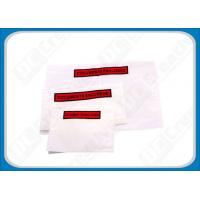 Buy cheap Multitude Adhesive Wallet Packing List Document Enclosed Envelope For Shipment from wholesalers
