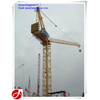 Buy cheap 10t luffing jib tower cranes for construction site from wholesalers