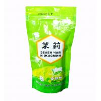 Buy cheap Shiny Peak Green Tea Bags Packaging Stand Up Aluminum Foil Jasmine Pouch from wholesalers