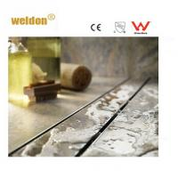 Buy cheap Wet room Brass long S S Channel Shower Drain Professional manufactory from wholesalers