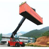 Buy cheap 45 ton container reach stacker manufacturer 45 T container lift truck 45 ton reach stacker from wholesalers