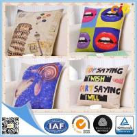 Buy cheap Natural Color Digital Printing  Home Textile Products Cotton Decorative Cushion Covers product
