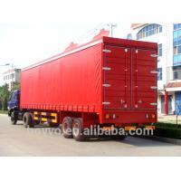 Buy cheap Dry Van Cargo Box SemiTrailer Double Side Canvas Door Curtain Truck Trailer product