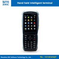 Buy cheap 2D Laser HandHeld Barcode Scanner With Display 3G NFC Portable Rfid Reader from wholesalers