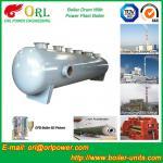 Buy cheap Energy Saving Floor Standing Boiler Mud Drum , Grey High Pressure Drum from wholesalers