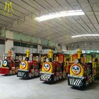 Buy cheap Hansel stock amusement park rides trackless battery operated train rides factory from wholesalers