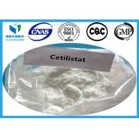 Buy cheap Cetilistat Pharma Raw Materials / Powder fat loss steroids CAS 282526-98-1 from wholesalers
