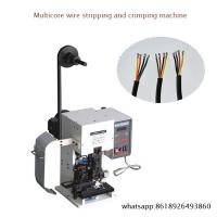 Buy cheap High-speed Mute Wire Stripping And Terminal Crimpping Machines from wholesalers