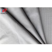 Buy cheap Grey 4 Way Lycra Jersey Material Polyester Spandex Blend Fabric For Sports from wholesalers