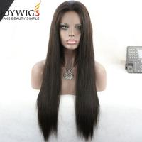 Buy cheap In Stock!! glueless cap 10 short wig indian remy human hair short full lace wigs for black women from wholesalers