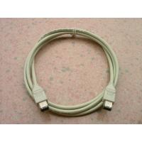 Buy cheap Beige Mini Firewire Cable 1394A 6 Pin Male To 6P Male 3 Meter With PNP Function from wholesalers