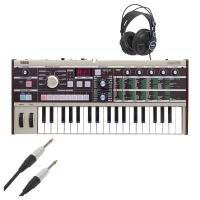 Buy cheap Korg Microkorg Keyboard Synthesizer-Korg Micro KORG Synthesizer With Free Cables & Headphones from wholesalers