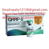 Buy cheap Ghrp 6 HGH Raw Steroid Powder 99% Purity Peptide Acetate For Bodybuilding from wholesalers