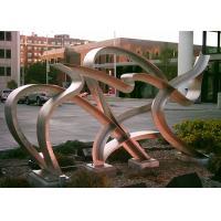 Modern Hand Made Art Stainless Steel Metal Sculpture Landscaping Decoration