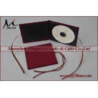 China Single Fabric Linen DVD CD Holder on sale