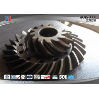Buy cheap 4340 20CrMnMo EN25 X9931 Bevel Gear Helical Gear Conic Gear Taper Gear Turning Gear from wholesalers
