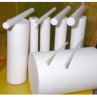 White Ptfe Rod Made With 100% Reclaimed Ptfe