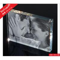Buy cheap 13 x 20cm Double Sided Clear Acrylic Photo Frames Durable Luster Of Suface from wholesalers