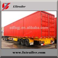Buy cheap Highway Logistics Transport van/box semi trailer for sale from wholesalers