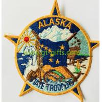 Buy cheap Wholesale Cheap Fashion Woven Embroidered Badges Custom Embroidery Patch from wholesalers
