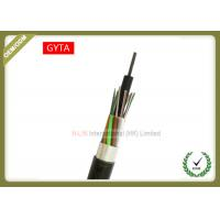 Buy cheap Non - Metallic Outdoor Fiber Optic Cable Stranded Loose Tube With Coated Aluminum Strip from wholesalers