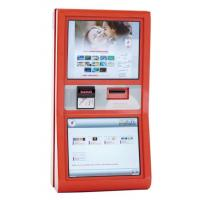 Wireless Connective Motion Sensor Wifi Multimedia Kiosk For Internet / Information Access