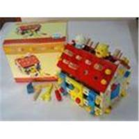 Buy cheap Wood Screw Disassembly House Puz Personalized Wooden Toys for Kids from wholesalers
